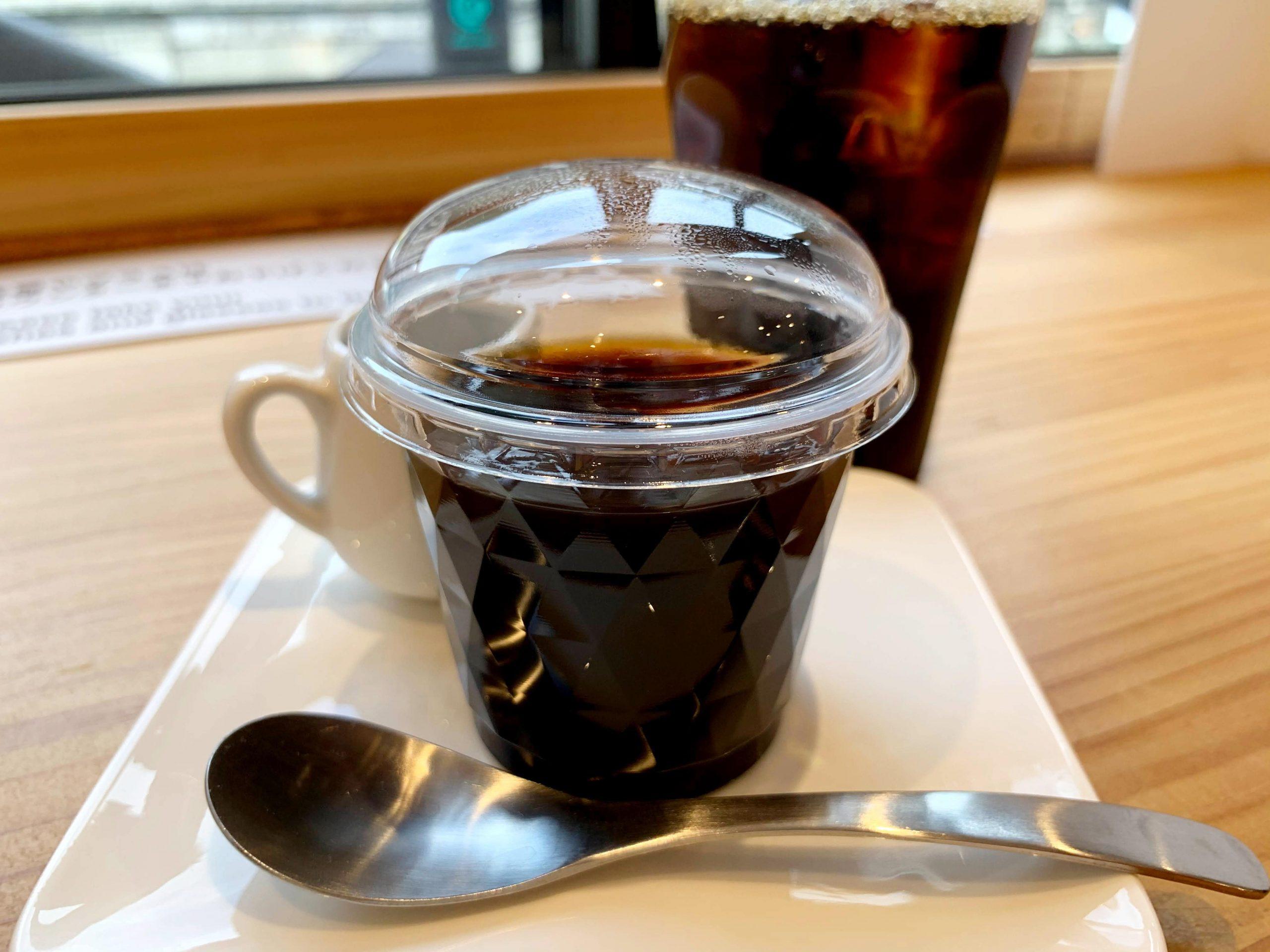 「Gotta Coffee(ガタコーヒー)のコーヒーゼリー