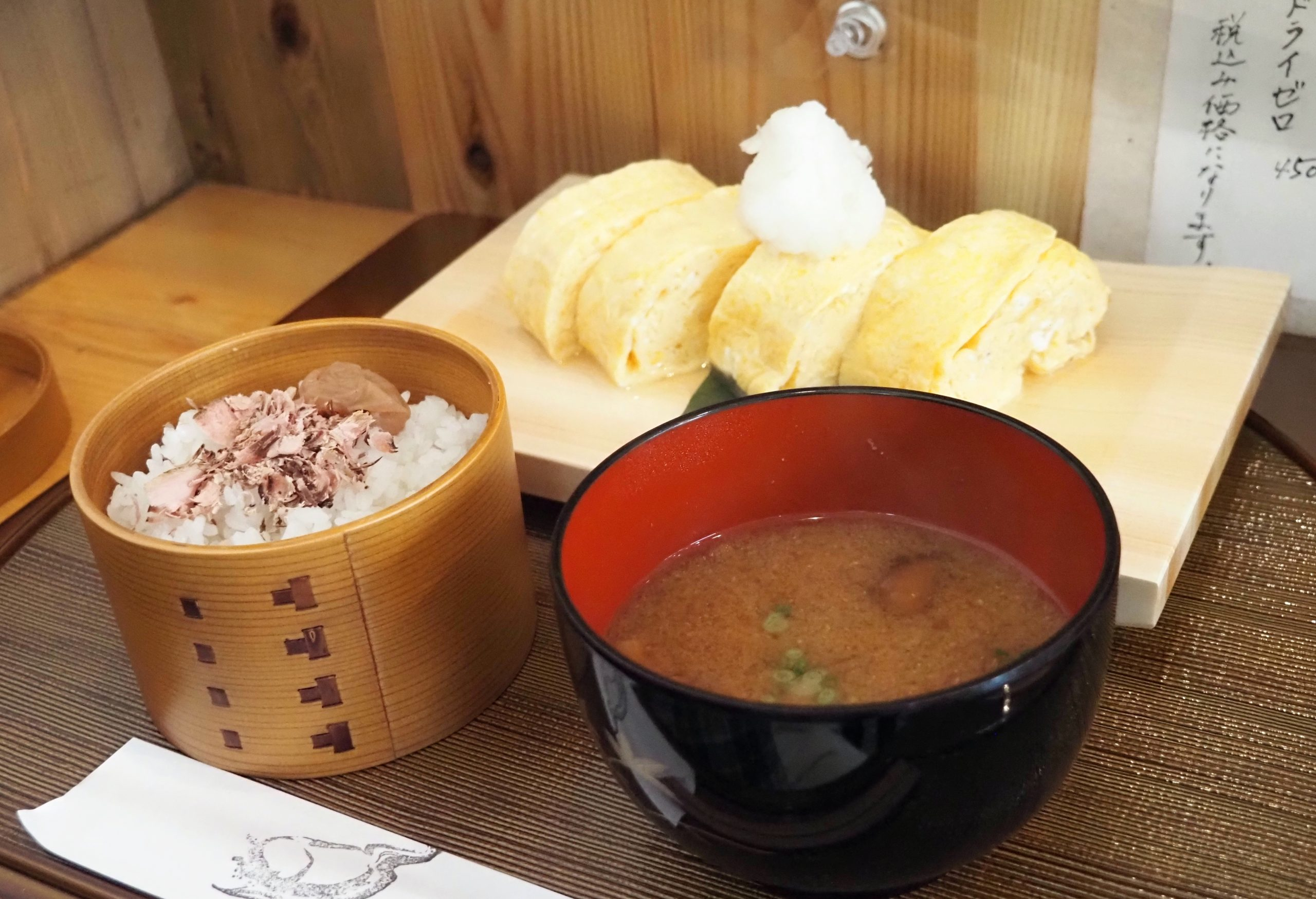 卵道〜TAMAコレクション〜のだしまき玉子定食