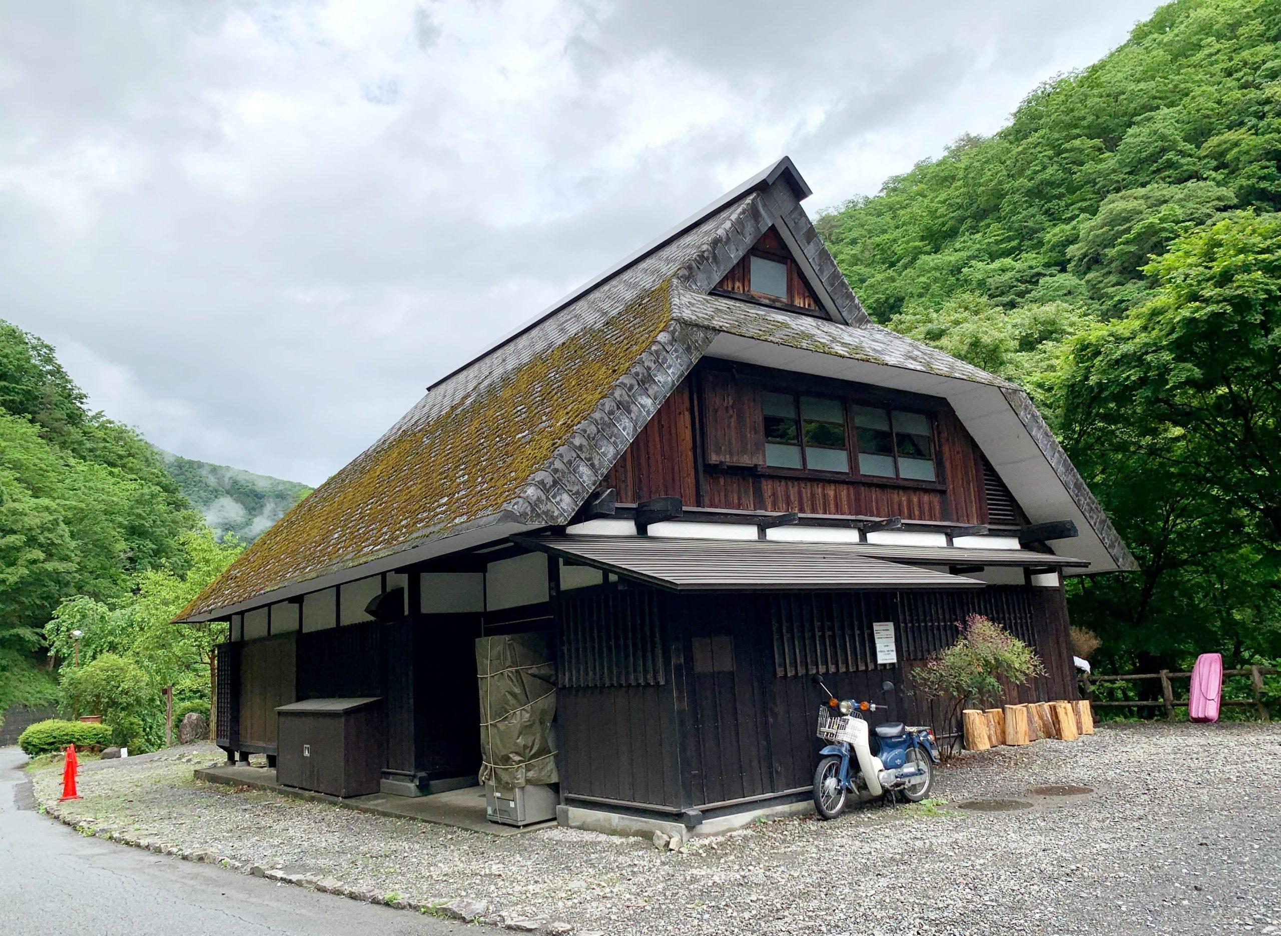 原始村の建物