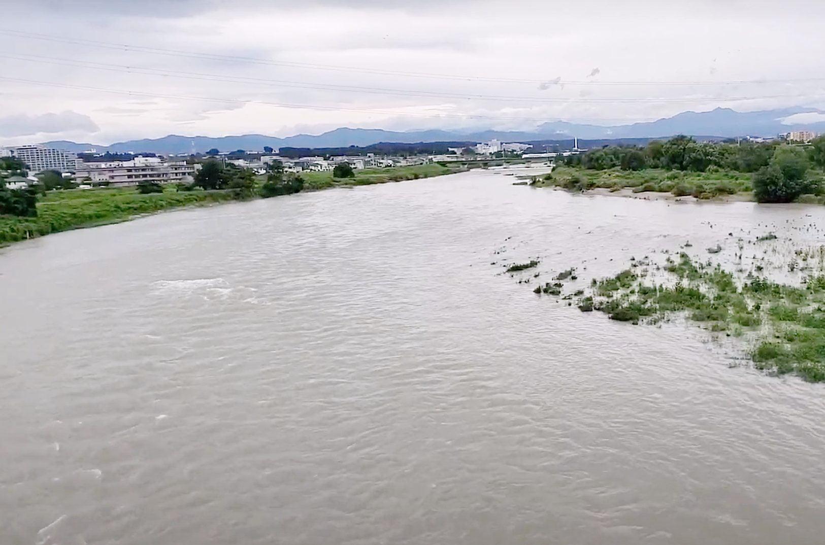 多摩川の氾濫